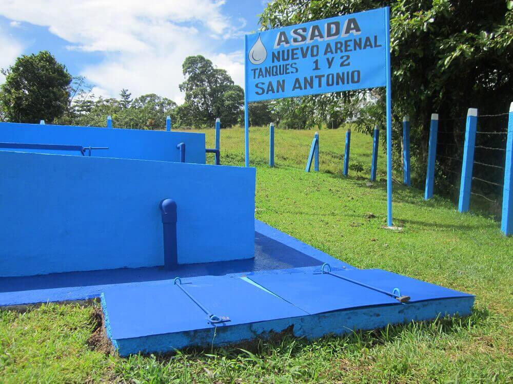 Asada Nuevo Arenal | Acueducto Rural